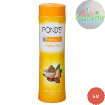 POND'S Sandal Radiance Talcum Powder, Natural Sunscreen, 100gm