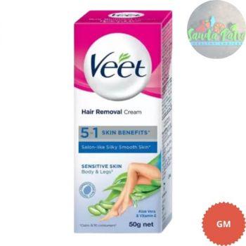 Veet Silk & Fresh Hair Removal Cream - Sensitive Skin, 25gm