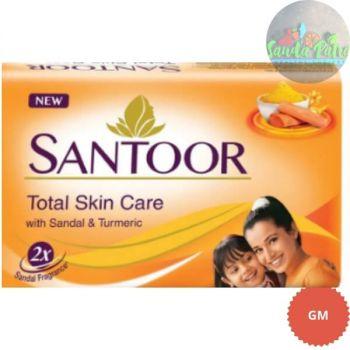 Santoor Sandal & Turmeric Soap, 100gm