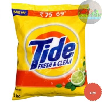 Tide Fresh and Clean, 1kg With Tide Bar RS - 10 Free