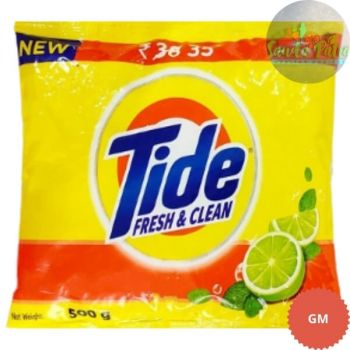 Tide Fresh and Clean, 500gm With Tide Bar RS - 6 Free