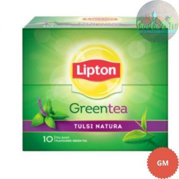 Lipton Tulsi Natura Green Tea Bags, 1.3gX10s