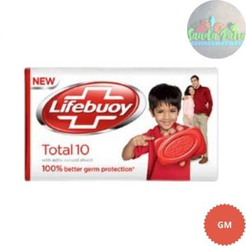 Lifebuoy Soap, Total 10 Germ Protection, 65gm