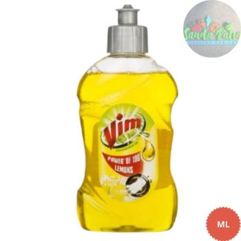 Vim Dishwash Active Gel Yellow, 250ml