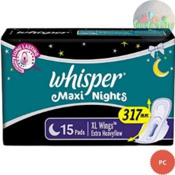 Whisper Maxi Nite , XL + , 15pads