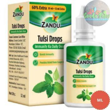 Zandu Tulsi Drops Immunity Ka Daily Dose, 32ml